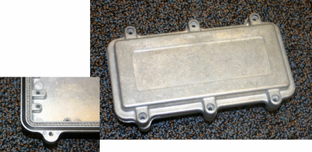 Bud Industries ANS-3823 - Die Cast Aluminum Enclosure-ANS series-Die cast Aluminum IP67-L6 X W4 X D2