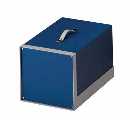 Bud Industries BB-1802-BT - Small Metal Electronics Enclosures-BB18 series-Showcase Small Cabinet-L11 X W8 X D5