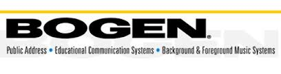 Bogen Communications - Speakers Sound Systems More
