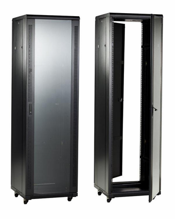 Bud Industries BRP-12208 - Large Cabinet Racks-BRP series-Bud Rack Professional Series-L86 X W24 X D24