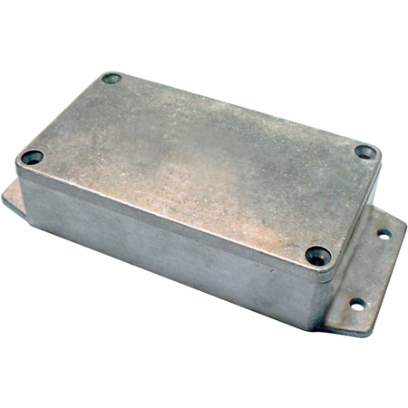 Bud Industries AN-2857-A - Die Cast Aluminum Enclosure-AN series-NEMA 4,6 ,IP68 with Molded Mounting Bracket-L9 X W6 X D2