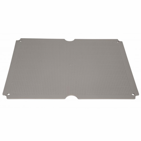 Bud Industries PTX-22460 - PTH mounting plate Steel 1.6mm