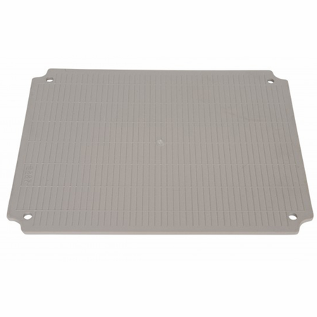 Bud Industries PTX-22422-P - PTH mounting plate ABS Plastic