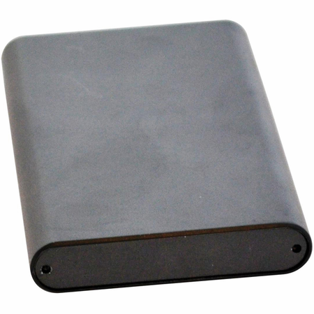 Bud Industries EXT-9163 - Small Metal Electronics Enclosures-EXT series-extruded Aluminum enclosures-L2 X W1 X D1