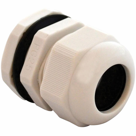 Bud Industries IPG-22225-G - NEMA Box Accessories-IPG series-Accessories IP66 Nylon Cable glands-L2 X W2 X D2