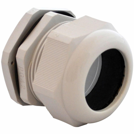Bud Industries IPG-22242-G - NEMA Box Accessories-IPG series-Accessories IP66 Nylon Cable glands-L3 X W3 X D3