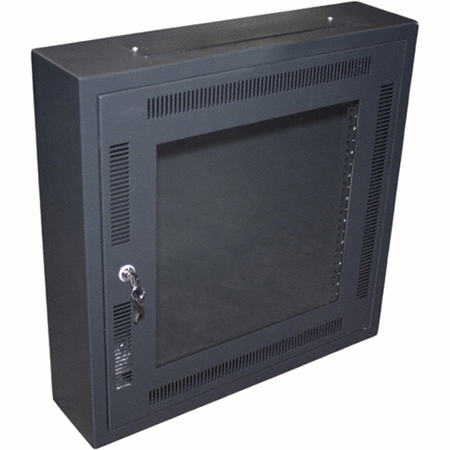 Bud Industries WNC-5631 - Electronics Cabinets-WNC series-Wall Mount Network Cabinet-L24 X W24 X D6