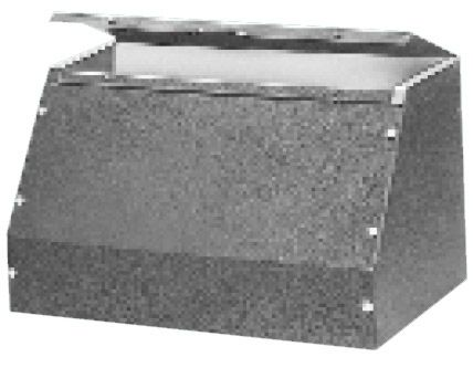 Bud Industries C-1588 - Small Metal Electronics Enclosures-C series-Sloping Panel Cabinets-L10 X W8 X D8