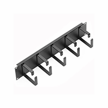 Lowell CMD-1H Cable Management Panel-1U Horizontal D-Rings
