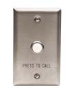 Lowell CS10 Switch-Intercom Call Station-Momentary SPST-Pushbutton 1-gang