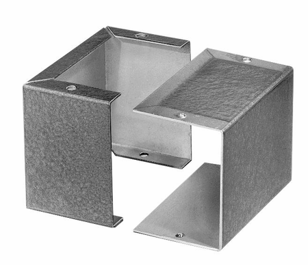 Bud Industries CU-3001-A - Small Metal Electronics Enclosures-CU series-Miniboxes-L3 X W2 X D2