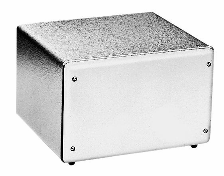 Bud Industries CU-7127-GT - Small Metal Electronics Enclosures-CU series-Contour Utility-L12 X W7 X D8