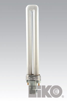 Eiko DT13/41 13W Duo-Tube 4100K GX23 Base Compact Fluorescent - Cf Lamps
