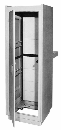 Bud Industries E-2004-RB - UPRIGHT CABINET RACK