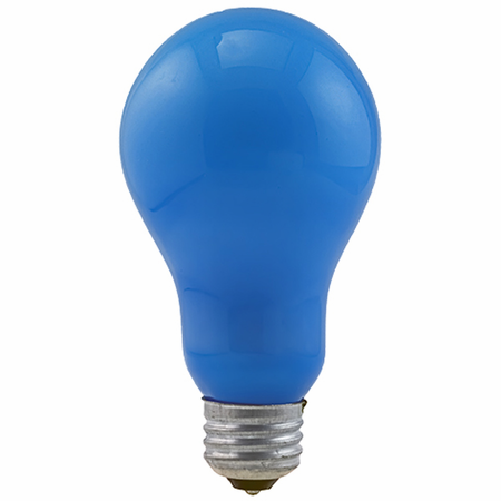 Eiko BCA 120V 250W Blue Inside Frosted A-21 E26 Base - Av/Sttv