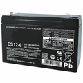 MK Battery ES12-6 T2 - 6 Volts 12 Amp Hours/20 Hours