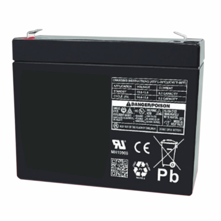 MK Battery ES3-12R - 12 Volts 3 Amp Hours/20 Hours