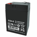 MK Battery ES4-6 - 6 Volts 4.5 Amp Hours/20 Hours
