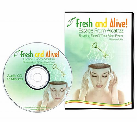 Fresh and Alive 1006W - Audio CD: Escape From Alcatraz, Breaking Free of Your Mind Prison