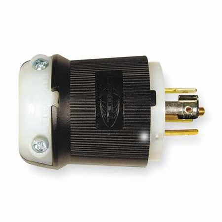 Hubbell HBL2511 - AC - Connector, L21-20, inline, male, Hubbell