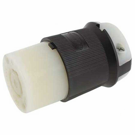 Hubbell HBL2513 - AC - Connector, L21-20, inline, female, Hubbell