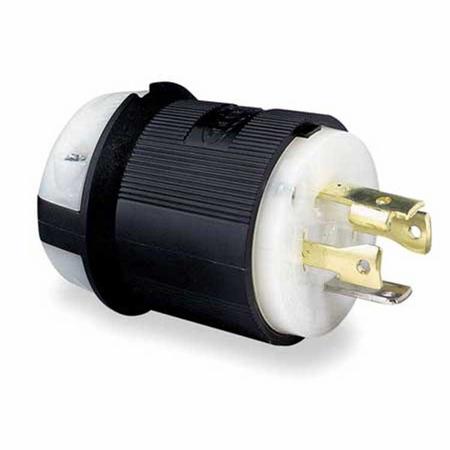 Hubbell HBL2711 - AC - Connector, L14-30, inline, male, Hubbell