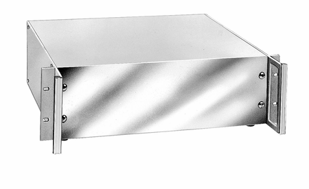 Bud Industries HC-14098 - Aluminum Enclosure-HC series-Aluminum Valuline Series with handles-L2 X W17 X D13