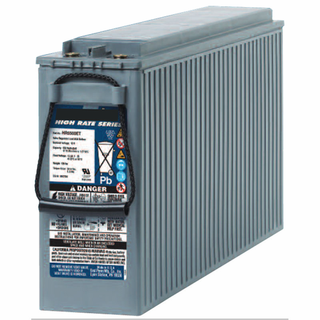 MK UPS Battery HR5500ET - 12 Volts, Amp Hour, 550 Watts/Cell 15 Minute Rate
