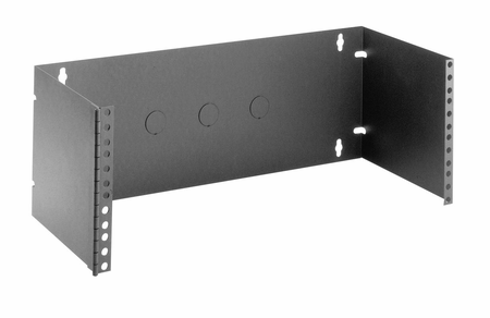 Bud Industries HWB-2792 - Electronics Enclosure Accessories-HWB series-Accessories Hinged Patch Panel Brackets-L19 X W7 X D8