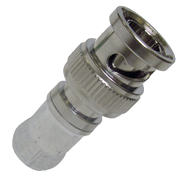 Whirlwind ICM-DB6BNCHD - Connector - BNC, male, inline, universal RG6 HD, compression [sold in 25-piece bags, price is per unit, requires CPLCRBC-BR]