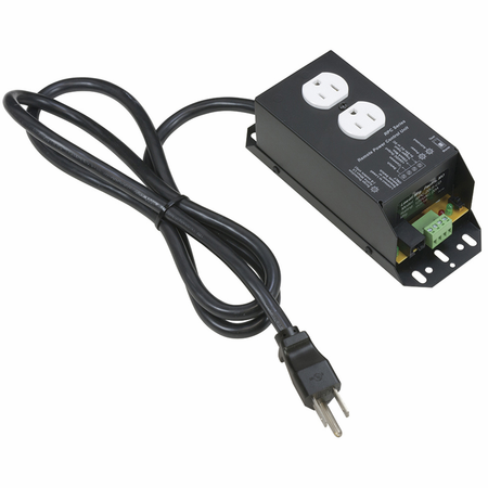 Lowell RPC-15-SCD-RJ Remote Power Control-15A 1 Duplex Outlet 6ft Cord Surge Supp Protection RJ45