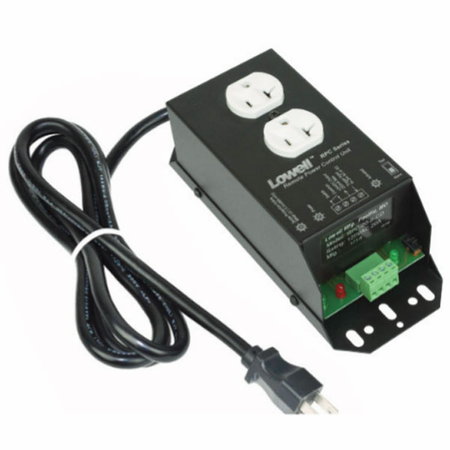 Lowell RPC-20-SCD Remote Power Control-20A 1 Duplex Outlet 6ft Cord Surge Supp Protection