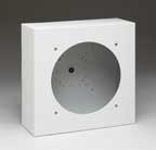 Lowell LUH-BOX Backbox-Recessed/Surface-LUH-15T Stainless 10.5in Sq x 4in Deep