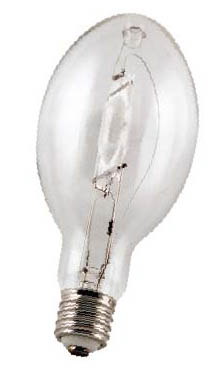 Howard Lighting MH1500/HBU - Howard Lighting MH1500/HBU 1500W Clear Mogul Base Metal Halide BT37 Lamp