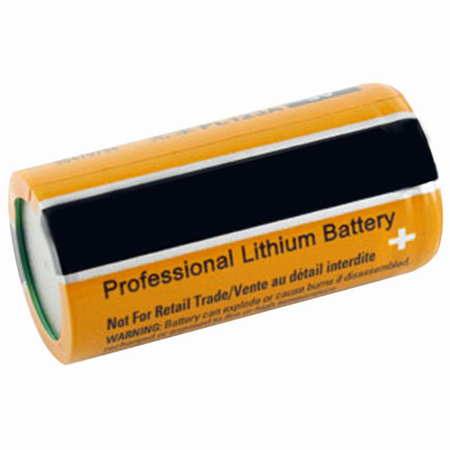 MK Battery ES-CR123A - 3 Volts 1300 mAh Amp Hours/20 Hours
