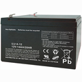 MK Battery ES14-12 - 12 Volts 14 Amp Hours/20 Hours