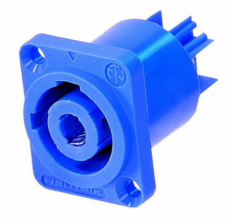 Whirlwind NAC3MPA - Connector - Powercon - Neutrik, power in, chassis, (blue)