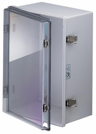 Bud Industries NBA-10176 - NEMA 4X Enclosures-NBA series-UL/NEMA/IEC IP67-L24 X W16 X D9