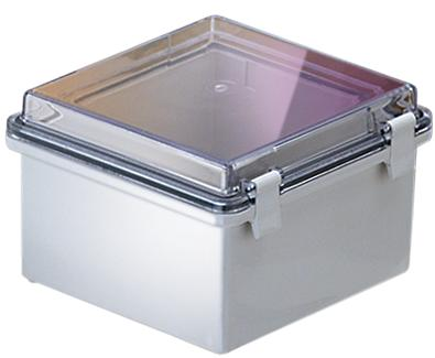Bud Industries NBB-10260 - NEMA 4X Enclosures-NBB series-UL/NEMA/IEC IP67-L6 X W6 X D4