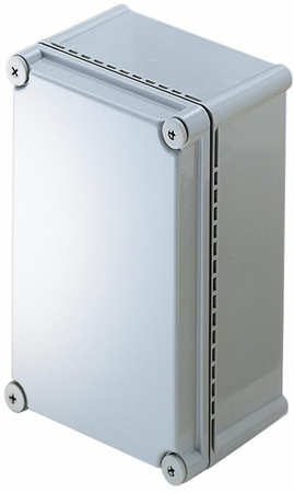 Bud Industries NBD-10442 - NEMA 4X Enclosures-NBD series-UL/NEMA/IEC IP67-L11 X W7 X D5