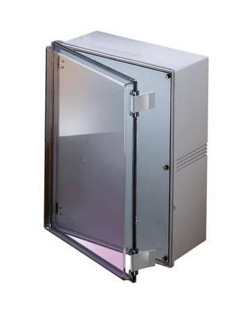 Bud Industries NBE-10573 - NEMA 4X Enclosures-NBE series-UL/NEMA/IEC IP67-L19 X W15 X D8