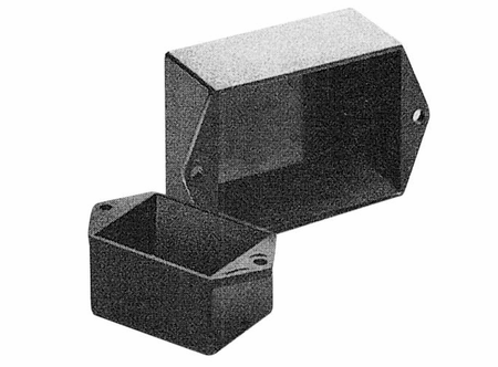 Bud Industries PB-1579-TF - Plastic Boxes-PB series-Potting Boxes Style B-L2 X W1 X D1