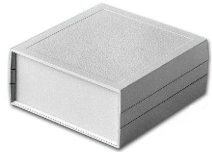 Bud Industries PC-11412 - Plastic Boxes-PC series-Plasticase Style B-L8 X W6 X D3