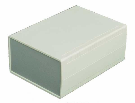 Bud Industries PC-11463 - Plastic Boxes-PC series-Plasticase Style E-L7 X W6 X D1