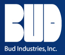 Bud Industries PMB-11282 - Plastic Boxes-PBS series-Plastibox Style C Textured body with smooth top