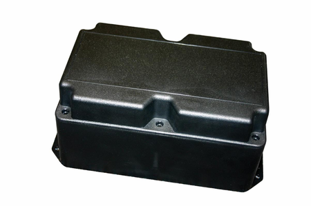 Bud Industries PT-11800 - Plastic Boxes-PT series-Plastibox Style J Textured body with textured top-L8 X W5 X D3