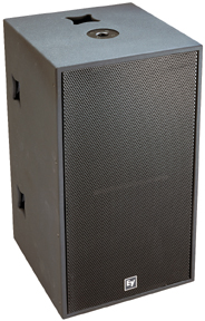 Electro-Voice Qrx-218S-Blk W/Rig Speaker Sys