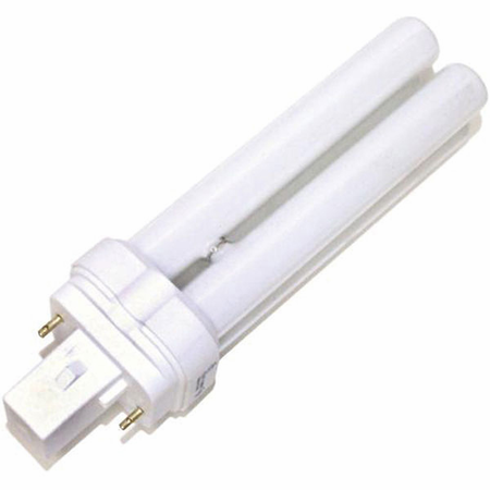 Eiko QT26/41 26W Quad-Tube 4100K G24d3 Base Fluorescent - Cf Lamps