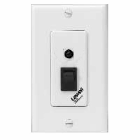 Lowell RPSW-MP Switch-Momentary SPST-Rocker Switch 1 Status LED 1-gang White