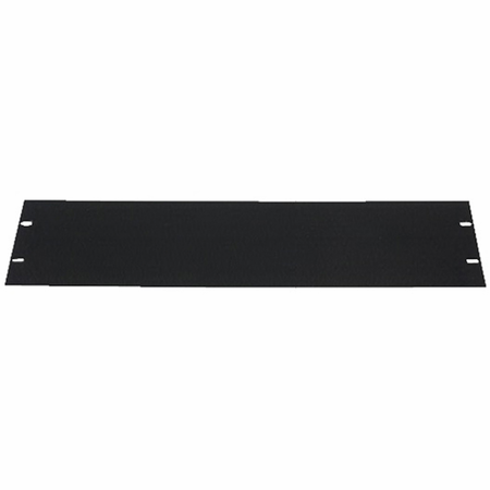Lowell SEFP-5 Rack Panel-Blank-5U 14-gauge Flat Steel Black
